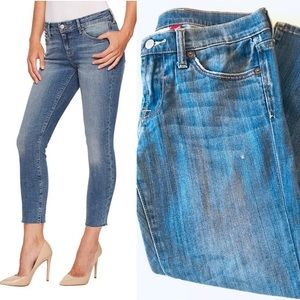 Lucky Brand Cropped Jeans Stretch Distressed Sz 4